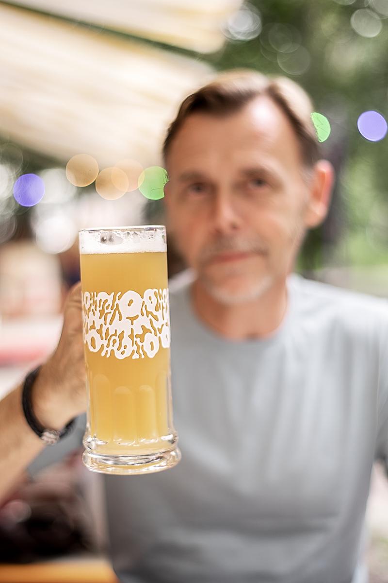 Stor öl på Omnipollos Flora